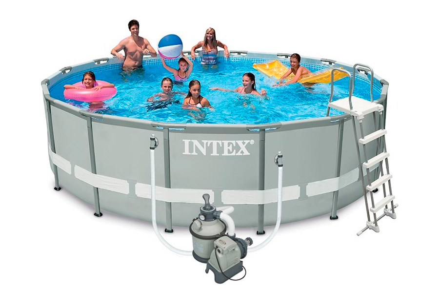 piscina tubular ultra frame de intex